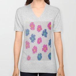 Spring Blooms Unisex V-Neck