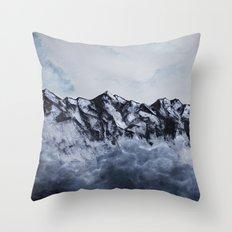 Mount Cook Throw Pillow