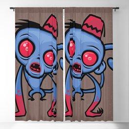 Zombie Monkey Blackout Curtain