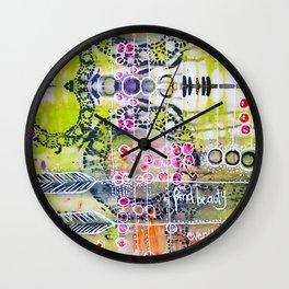 Find Beauty Wall Clock