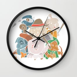 Dungeons & Dogs Wall Clock