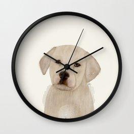 little labrador Wall Clock