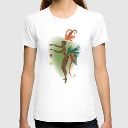 Coco LaSamba - A Burlesque Jungle Christmas T-shirt