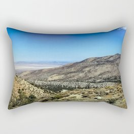 Crystal Mountain on the Pacific Crest Trail Rectangular Pillow