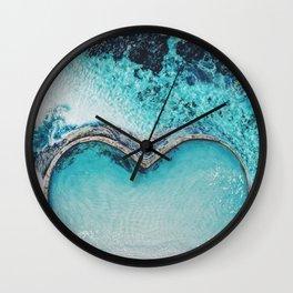 Laguna love beach Wall Clock