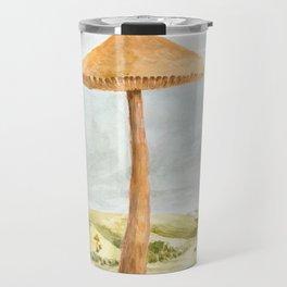Mushland - Watercolors Travel Mug