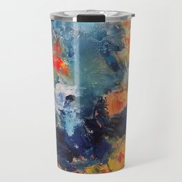 Orange Fish Travel Mug