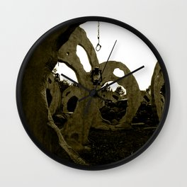 Screaming Lantern Wall Clock