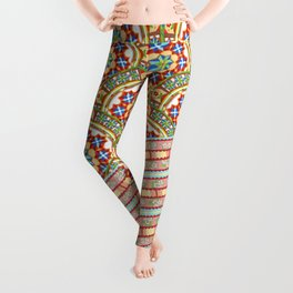 Design Confections Pattern on Pattern 1 Leggings