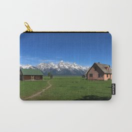 Moulton Homestead and Grand Teton Range Carry-All Pouch