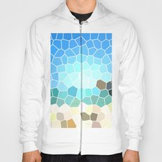 Abstract Geometric Background Hoody