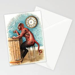 The Demon Drinks Stationery Cards