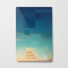 Heavenly - Himmelsgrafik - eins Metal Print