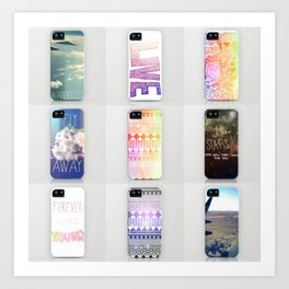 iPhone Cases by Shans Art Print