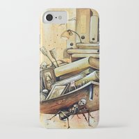 school iPhone & iPod Cases featuring school by Andreas Derebucha