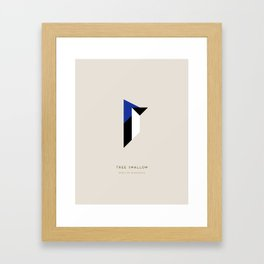 Tree Swallow Framed Art Print