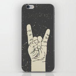 Rock me Baby iPhone Skin