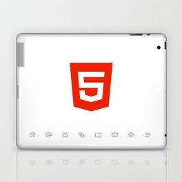 HTML5 Brand Launch Laptop & iPad Skin