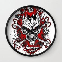 Revenge 2017 Wall Clock