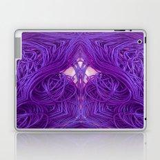 Purple Coils Laptop & iPad Skin
