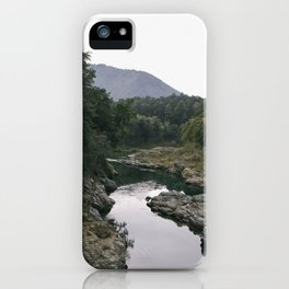 Murky Water iPhone Case