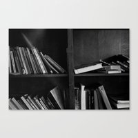 library Canvas Prints featuring Library by Jenna Wu