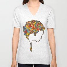 Musical Mind Unisex V-Neck