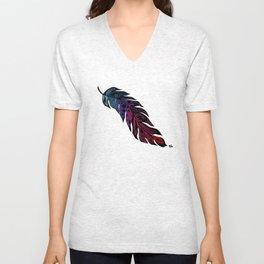 Tribal Feather Unisex V-Neck