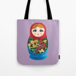 Matryoshka Polygon Art Tote Bag