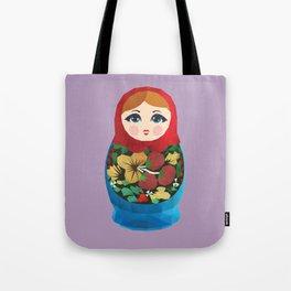 Matryoshka Polygon Art Tote Bag