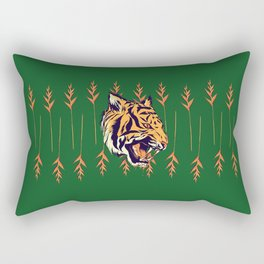 Blood Tiger II Rectangular Pillow