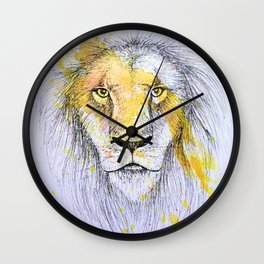 Lion I Wall Clock