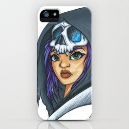 Angel from the Depths iPhone Case