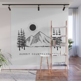 Summit County, Colorado Wall Mural