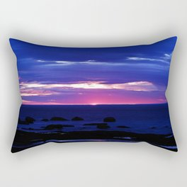 Dusk on the Sea Rectangular Pillow