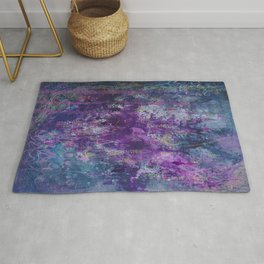 nocturnal bloom Rug