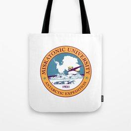 Miskatonic University Antarctic Expedition 1931 Tote Bag