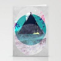 minimalism Stationery Cards featuring Minimalism 10 by Mareike Böhmer