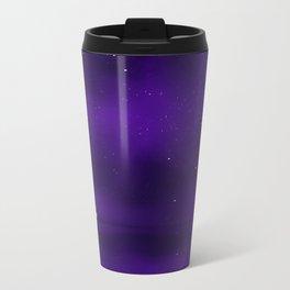 Purple Ship Metal Travel Mug