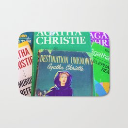 Destination Unknown - Vintage Agatha Christie Bath Mat