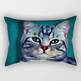Cat #cat #kitty Rectangular Pillow