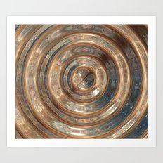 Space Swirl no1 Art Print