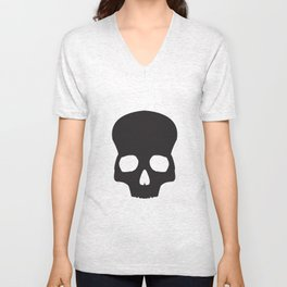 Skullhead Unisex V-Neck