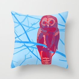 Strix Throw Pillow