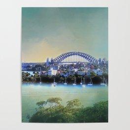 Sydney - The Harbour City Poster