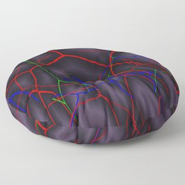 Mysteriously ways of life Floor Pillow