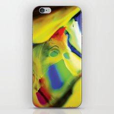 Manifestation in Yellow iPhone & iPod Skin
