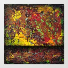 Abstract Distressed #1 Canvas Print
