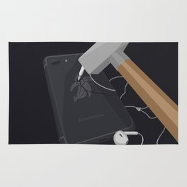 Banana Phone Rug