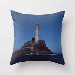 (RR 293) Fastnet Rock Lighthouse - Ireland Throw Pillow